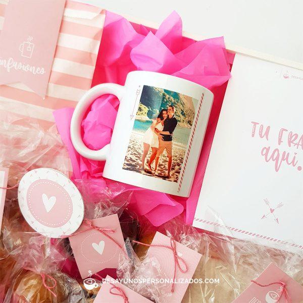 Corazones clásico con taza rosa1