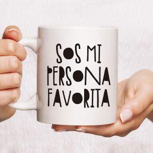 Taza sos mi persona favorita